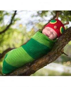 Casey the Caterpillar Newborn Bunting