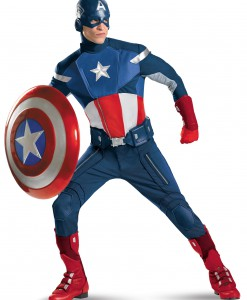 Plus Size Avengers Replica Captain America