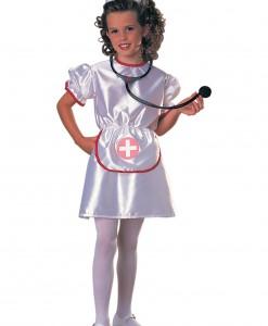 Girls Little Miss Nurse Costume