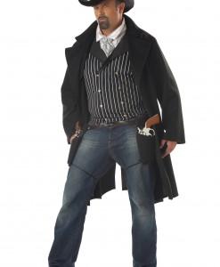 Plus Size Gunfighter Costume