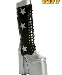 KISS Rock the Nation Starchild Boots