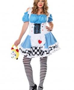 Plus Size Miss Wonderland Costume
