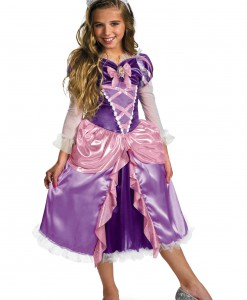 Deluxe Girls Tangled Rapunzel Costume