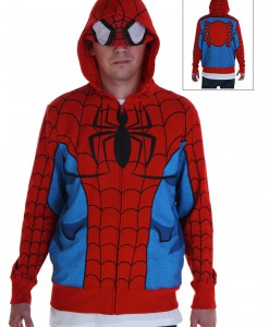 Adult Spiderman Costume Hoodie