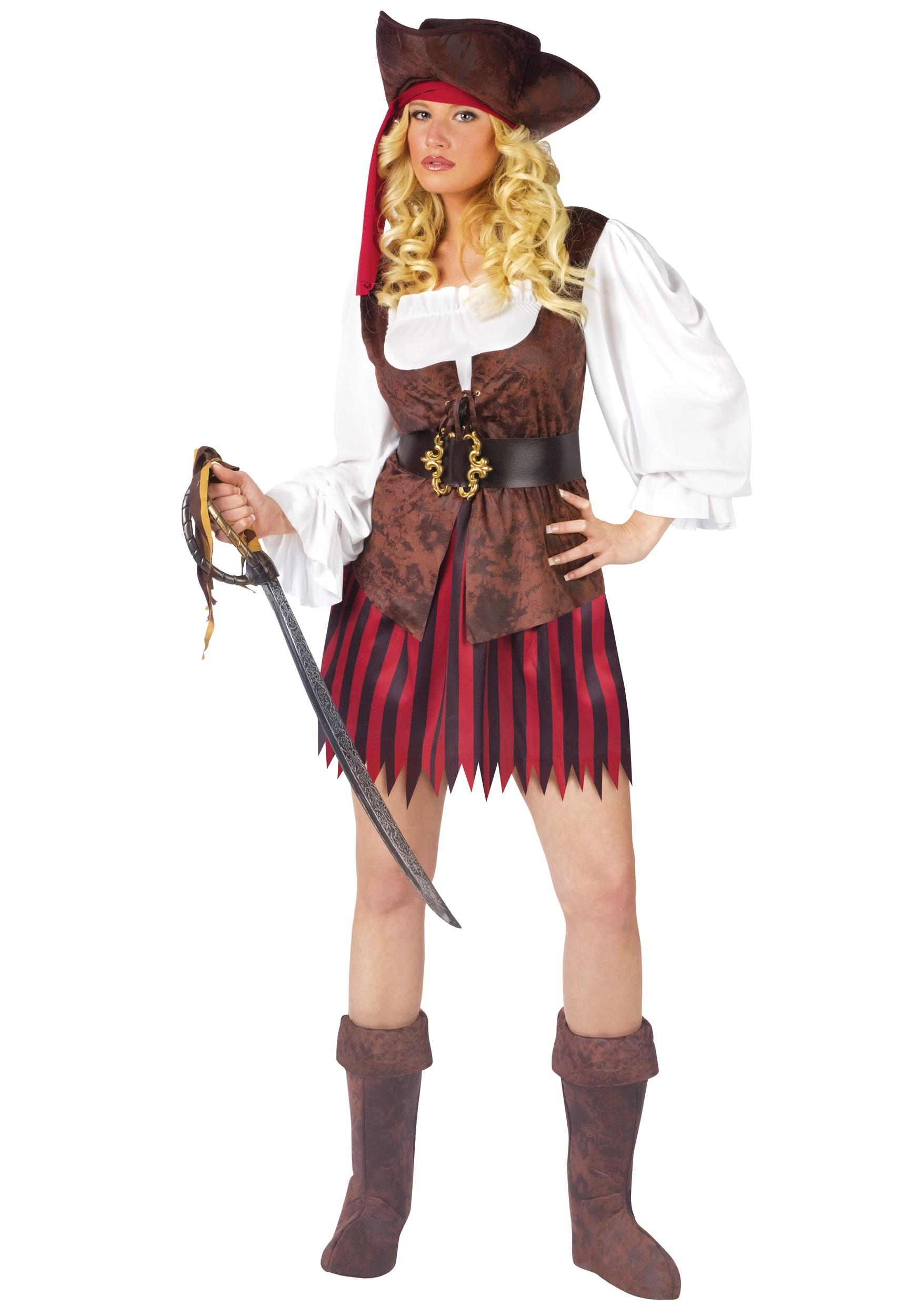Womens Caribbean Pirate Costume