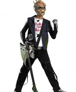 Punk Rocker Zombie Costume