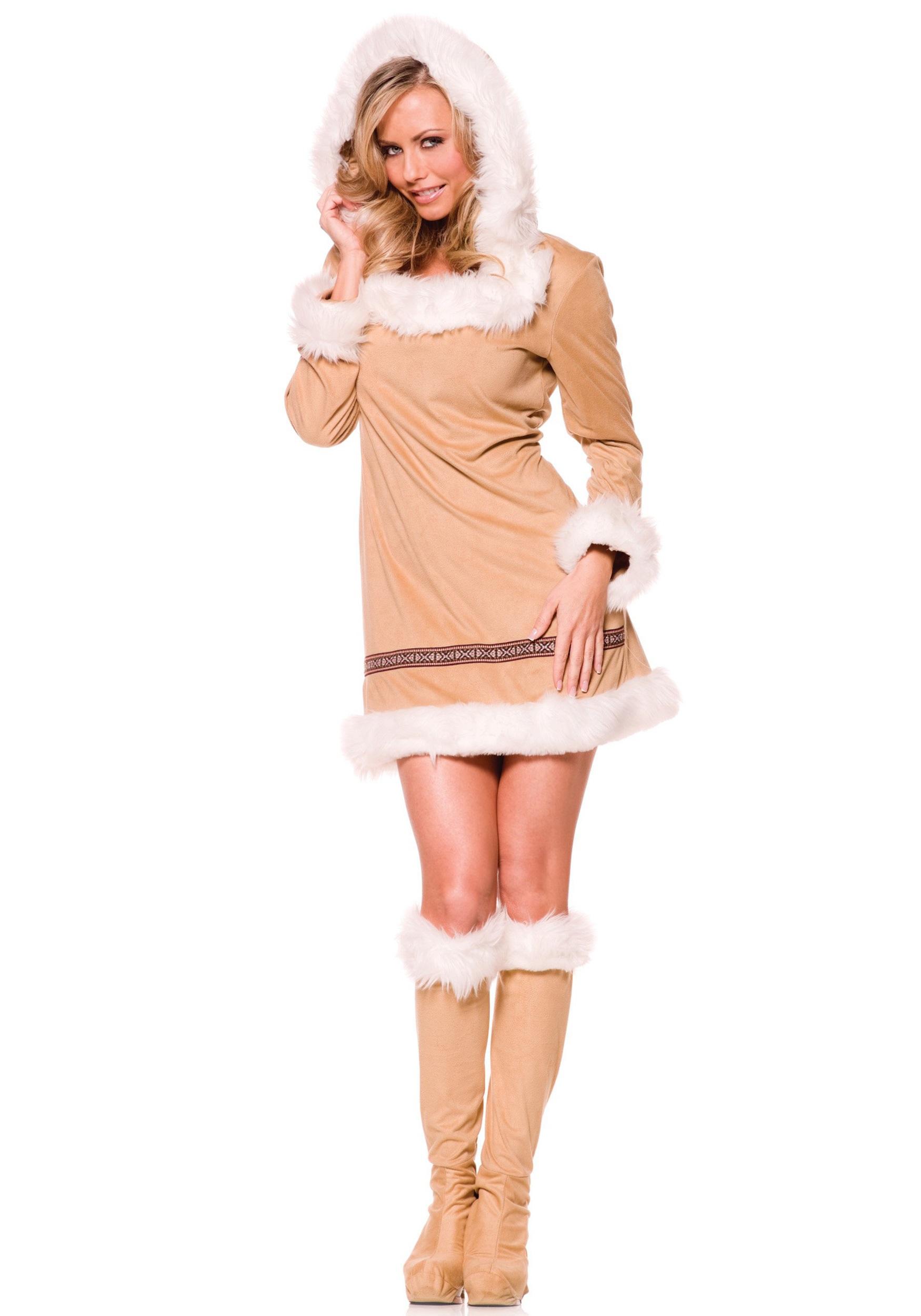 Eskimo cutie adult costume