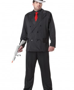 Plus Size Mob Boss Costume