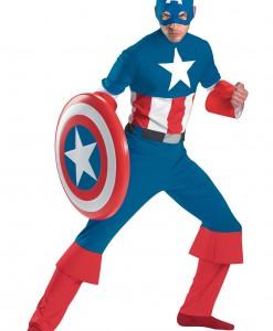 Classic Captain America Costume
