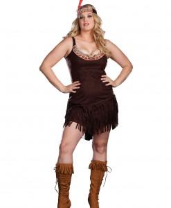 Plus Size Sexy Pocahontas Costume
