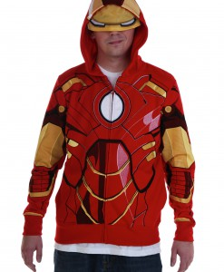 Adult Iron Man Costume Hoodie