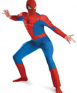 Muscle Chest Adult Spiderman Costume