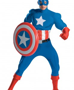 Authentic Captain America Costume