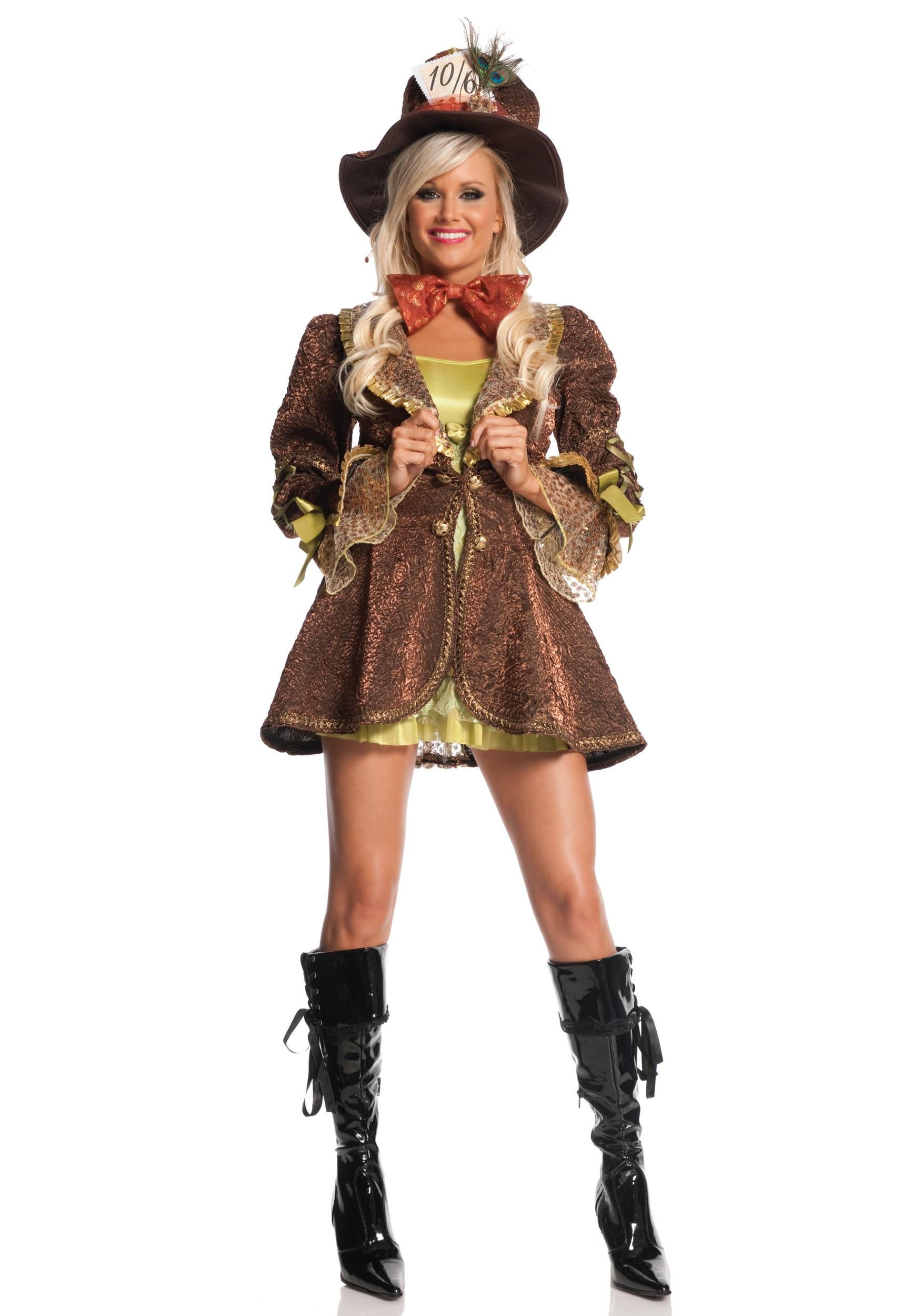 Crazy mad hatter costume