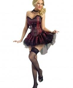 Seductive Saloon Girl Costume