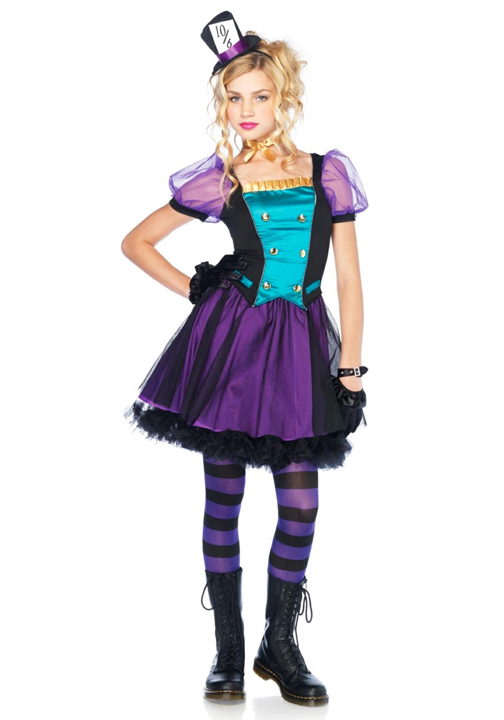 The Mad Hatter Tween Costume Cozy Fresh 9c23e14c21fa Centreforpublicsafety Com