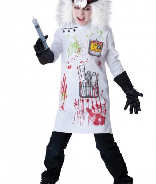 Child Mad Scientist Costume