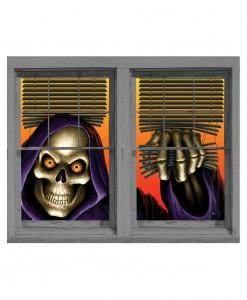 Grim Reaper Double Window Cling