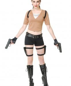 Women's Tomb Fighter Costume