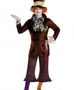 Adult Prestige Mad Hatter Costume
