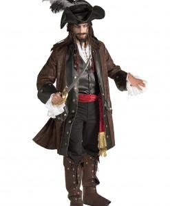 Authentic Caribbean Pirate Adult Costume