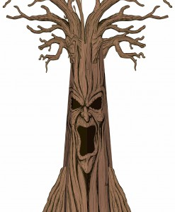 Haunted Tree Decoration