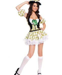 Sexy Plaid Mad Hatter Costume