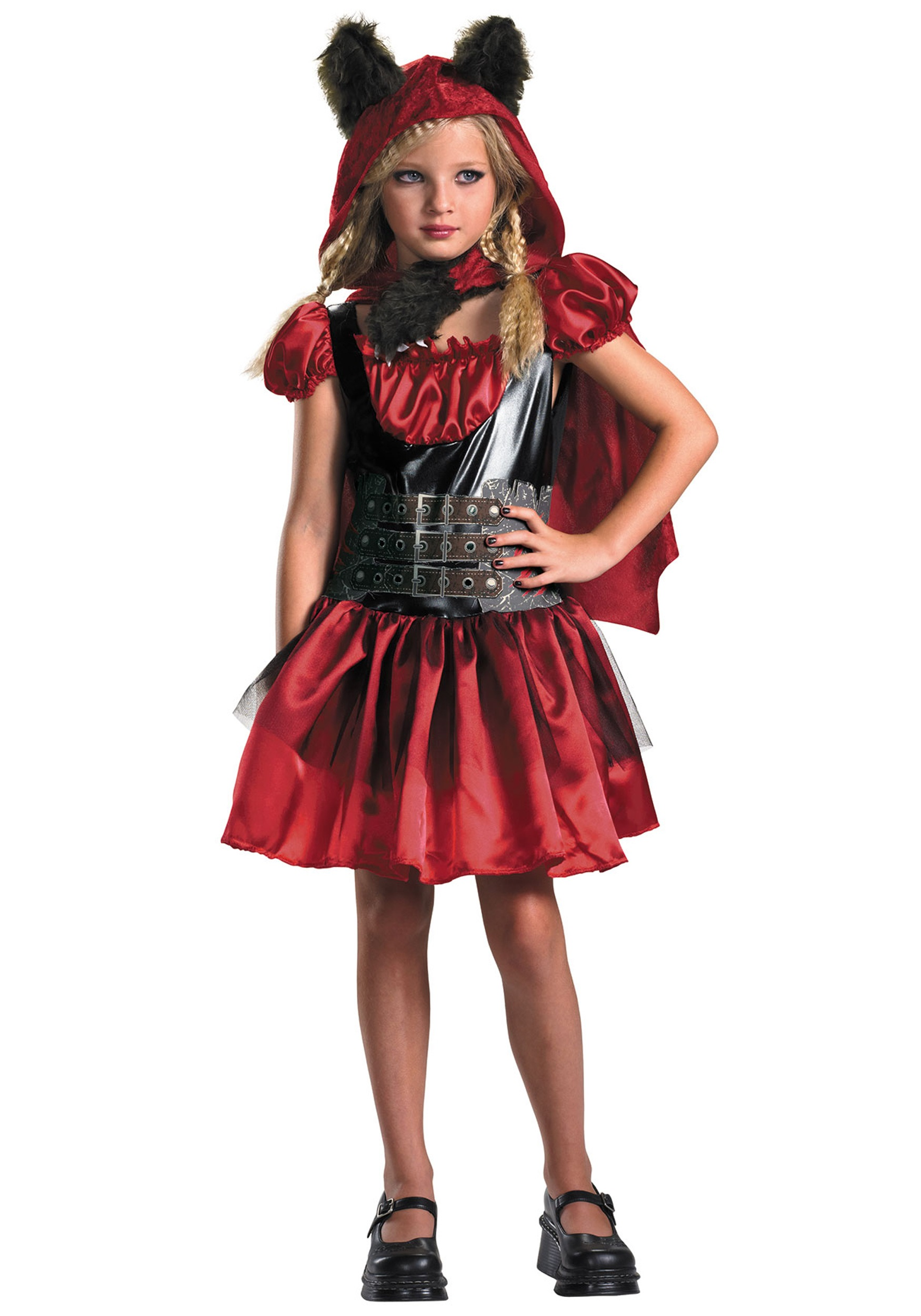Girls Red Riding Rage Costume Halloween Costume Ideas 2019