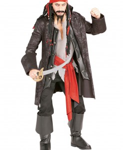 Adult Captain Cutthroat Pirate Costume
