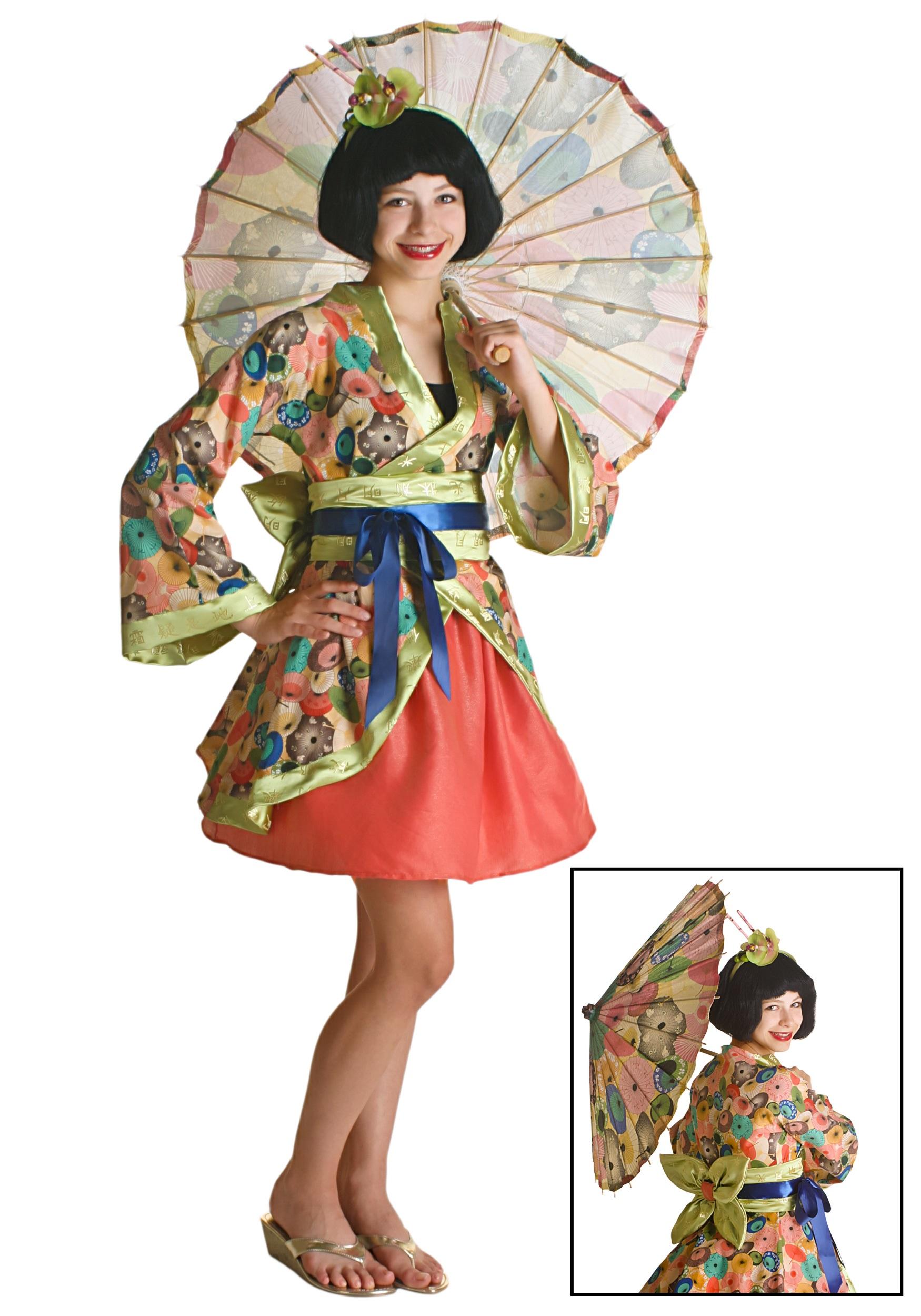 Fashion nova is selling a geisha halloween costume