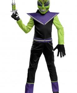 Glow in the Dark Alien Costume