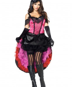 Plus Size Can Can Girl Costume