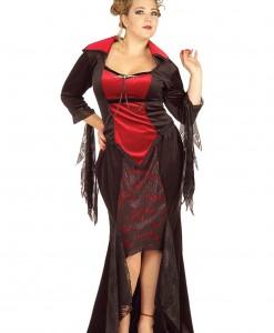 Plus Size Gothic Vampire Costume