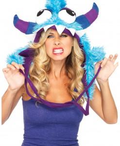Blue Bert Furry Monster Hood
