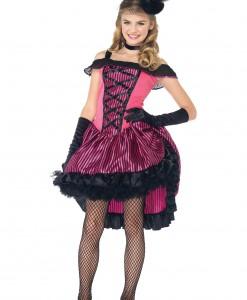 Teen Can Can Girl Costume
