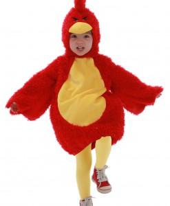 Toddler Red Grumpy Bird Costume