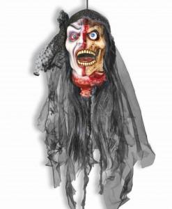 Lady Vampire Zombie Head