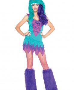 Plus Size Fuzzy Frankie Monster Costume