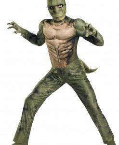 Kids Lizard Muscle Costume