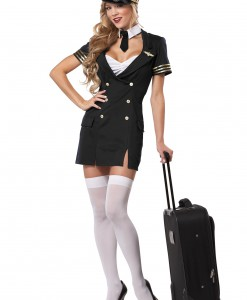 Plus Size Ready for Take Off Pilot Costume