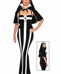 Erotic Deluxe Nun Costume