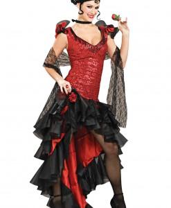 Women's Deluxe Spanish Dancer Costume