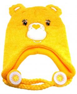 Yellow Carebears Laplander Hat