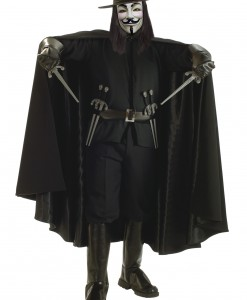 Adult V for Vendetta Grand Heritage Costume