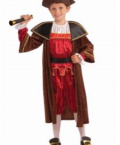 Kids Christopher Columbus Costume