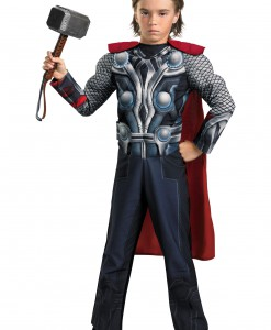 Child Avengers Thor Light-Up Costume