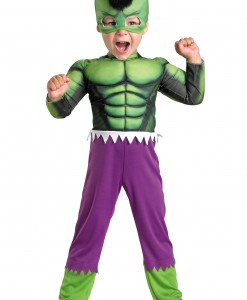 Toddler Hulk Muscle Costume