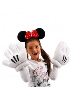 Minnie Ears & Glove Set