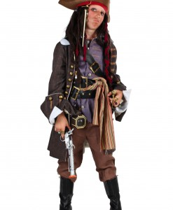Child Realistic Caribbean Pirate Costume