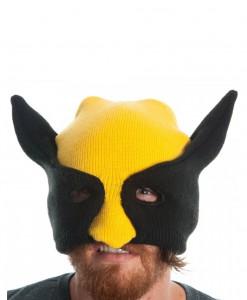 Marvel Wolverine Half Mask Knit Beanie
